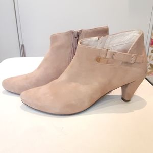 Tsubo Suede Booties